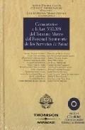 Portada de COMENTARIOS A LA LEY 55/2003 DE ESTATUTO MARCO DEL PERSONAL ESTATUTARIO DE LOS SERVICIOS DE SALUD