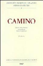 Portada de CAMINO: EDICION CRITICO-HISTORICA