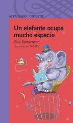 Portada de UN ELEFANTE OCUPA MUCHO ESPACIO (EBOOK)