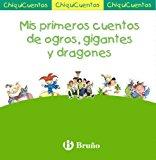 Portada de MIS PRIMEROS CUENTOS DE OGROS, GIGANTES Y DRAGONES: PACK CHIQUICUENTOS VERDE