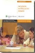Portada de LA TUTORIA EN EDUCACION INFANTIL