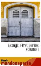 Portada de ESSAYS: FIRST SERIES, VOLUME II