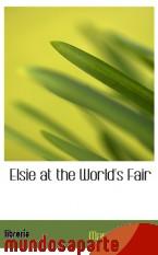 Portada de ELSIE AT THE WORLD`S FAIR