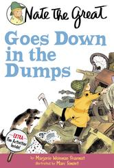 Portada de NATE THE GREAT GOES DOWN IN THE DUMPS