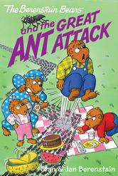 Portada de THE BERENSTAIN BEARS CHAPTER BOOK: THE GREAT ANT ATTACK