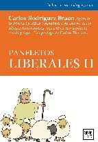 Portada de PANFLETOS LIBERALES II (EBOOK)