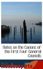 Portada de NOTES ON THE CANONS OF THE FIRST FOUR GENERAL COUNCILS