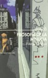 Portada de FILOSOFIA DE LA MINUCIA