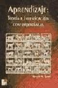 Portada de APRENDIZAJE: TEORIA E INVESTIGACION CONTEMPORANEAS