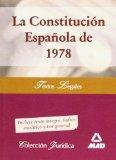 Portada de LA CONSTITUCION ESPAÑOLA DE 1978