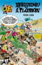Portada de OLE MORTADO Y FILEMON Nº 182: PEKIN 2008