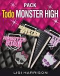 Portada de PACK TODO MONSTER HIGH   (EBOOK)