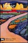 Portada de LECTURAS PARA MINUTOS, 2