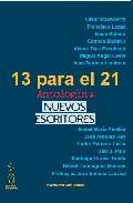 Portada de 13 PARA EL 21. ANTOLOGIA DE NUEVOS ESCRITORES