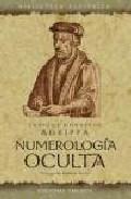 Portada de NUMEROLOGIA OCULTA