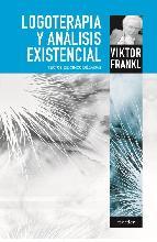 Portada de LOGOTERAPIA Y ANÁLISIS EXISTENCIAL (EBOOK)