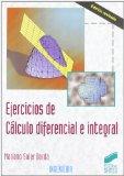 Portada de EJERCICIOS DE CALCULO DIFERENCIAL E INTEGRAL