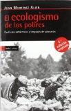 Portada de EL ECOLOGISMO DE LOS POBRES: CONFLICTOS AMBIENTALES Y LENGUAJES DE VALORACION