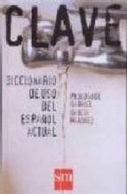 Portada de DICCIONARIO DE ESPAÑOL CLAVE