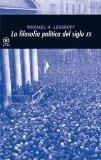 Portada de LA FILOSOFIA POLITICA DEL SIGLO XX