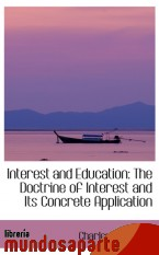 Portada de INTEREST AND EDUCATION: THE DOCTRINE OF INTEREST AND ITS CONCRETE APPLICATION