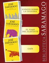 Portada de BIBLIOTECA SARAMAGO (PACK EBOOK 3 TÍTULOS): ENSAYO SOBRE LA CEGUERA, EL VIAJE DEL ELEFANTE Y CAÍN (EBOOK)