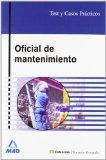Portada de OFICIAL DE MANTENIMIENTO: TEST Y CASOS PRACTICOS