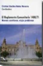 Portada de EL REGLAMENTO COMUNITARIO 1408/71: NUEVAS CUESTIONES, VIEJOS PROBLEMAS