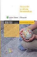 Portada de EDUCACION Y CULTURA DEMOCRATICAS