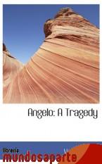 Portada de ANGELO: A TRAGEDY