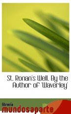 Portada de ST. RONAN`S WELL. BY THE AUTHOR OF `WAVERLEY`