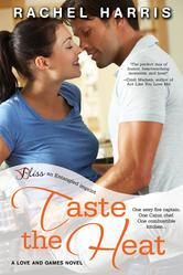 Portada de TASTE THE HEAT (A LOVE AND GAMES NOVEL)
