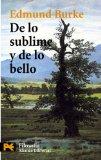 Portada de DE LO SUBLIME Y DE LO BELLO