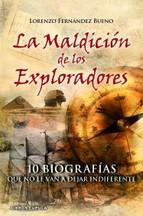Portada de LA MALDICIÓN DE LOS EXPLORADORES