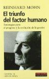 Portada de EL TRIUNFO DEL FACTOR HUMANO: ESTRATEGIAS PARA EL PROGRESO Y LA EVOLUCION DE LA GESTION