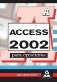 Portada de ACCESS 2002 PARA OPOSITORES