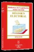 Portada de REGIMEN ELECTORAL