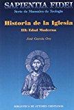 Portada de HISTORIA DE LA IGLESIA III: EDAD MODERNA