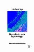 Portada de BREVE HISTORIA DE LA PSICOLOGIA