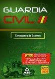 Portada de GUARDIA CIVIL: SIMULACROS DE EXAMEN
