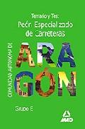 Portada de PEON ESPECIALIZADO DE CARRETERAS COMUNIDAD AUTONOMA DE ARAGON