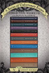 Portada de A SERIES OF UNFORTUNATE EVENTS COLLECTION: BOOKS 1-13 WITH BONUS MATERIAL