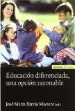 Portada de EDUCACION DIFERENCIADA, UNA OPCION RAZONABLE