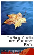 Portada de THE STORY OF JUSTIN MARTYR AND OTHER POEMS