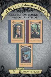 Portada de A SERIES OF UNFORTUNATE EVENTS COLLECTION: BOOKS 1-3 WITH BONUS MATERIAL