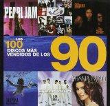 Portada de LOS 100 DISCOS MAS VENDIDOS DE LOS 90