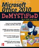 Portada de MICROSOFT OFFICE 2010 DEMYSTIFIED