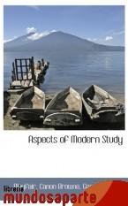 Portada de ASPECTS OF MODERN STUDY