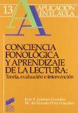 Portada de CONCIENCIA FONOLOGICA Y APRENDIZAJE DE LECTURA: TEORIA, EVALUACION E INTERVENCION