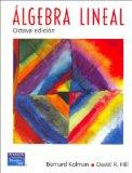 Portada de ALGEBRA LINEAL